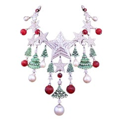 Carlo Zini Milano Christmas Necklace