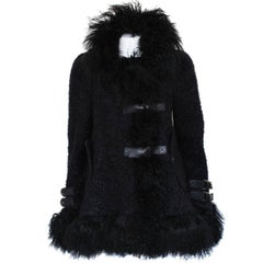 John Galliano Fur Jacket IT42