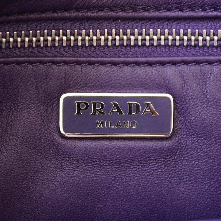 Prada Purple Fringes Shoulder Bag 3