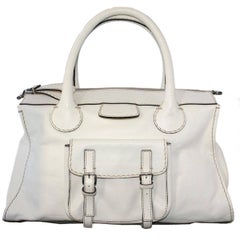 Chloé  Edith XXL White Bag