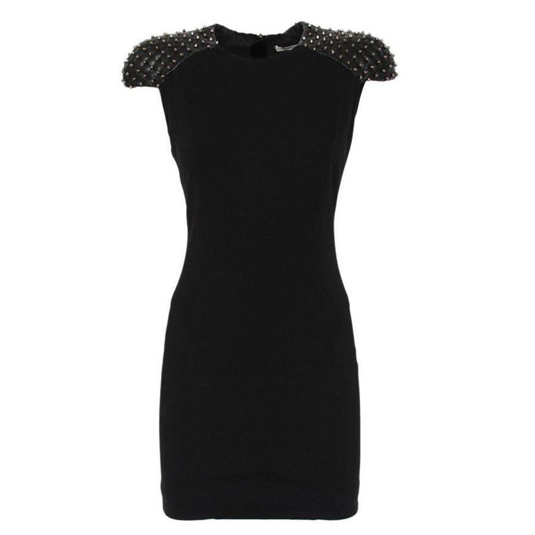 Balmain  Black Studs Dress 40