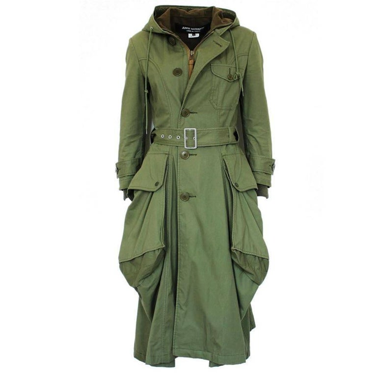 Junya Watanabe  Green Overcoat S