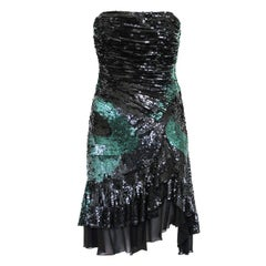 Versace  Haute Couture Sequins Dress 42