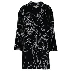 Stella Mccartney  Frederica Squiggle Coat M