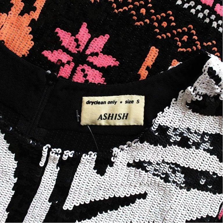 Women's Ashish Sequins Dress S For Sale