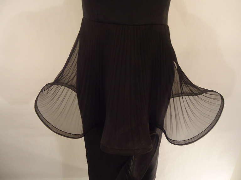 Giorgio Armani Black Label Silk Evening Dress, 1980s  For Sale 1
