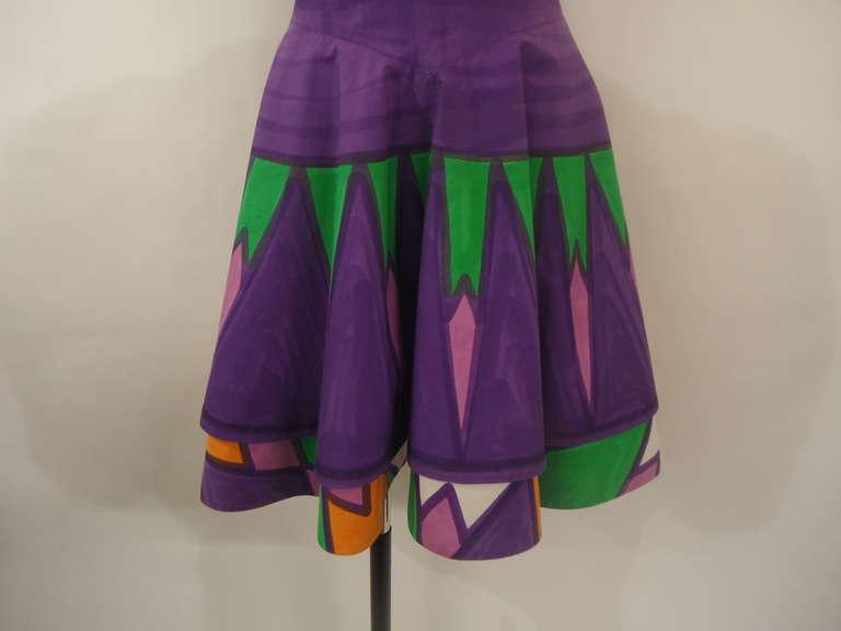 1960s livio de simone multicolored dress at 1stdibs - Simone boutique paris ...