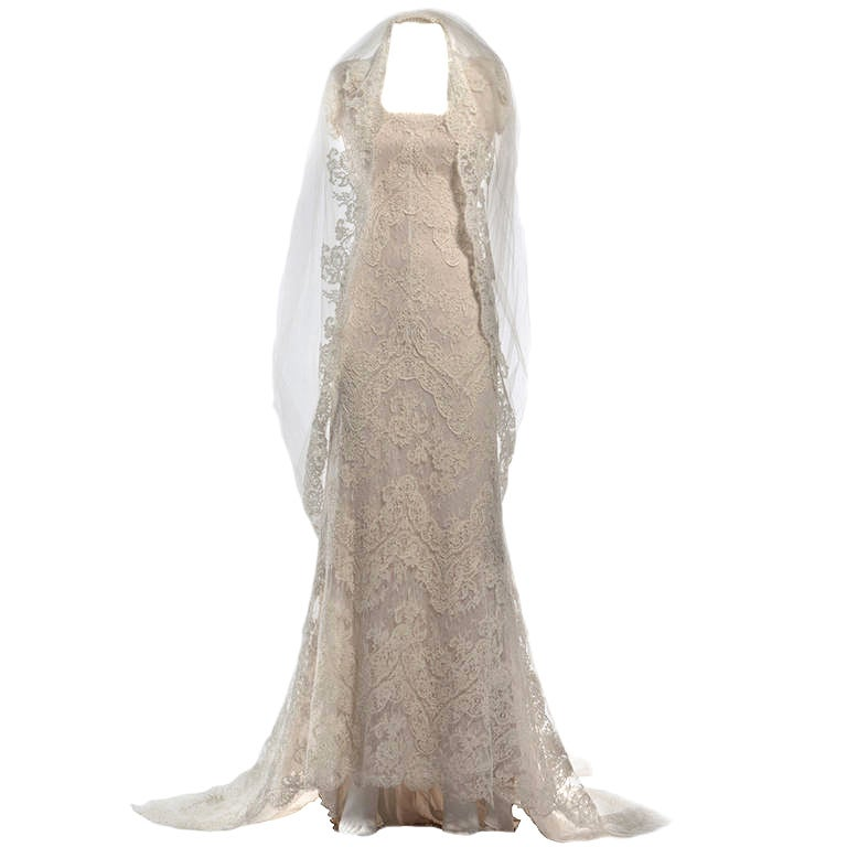 2011 Valentino Natural White Wedding Dress 1