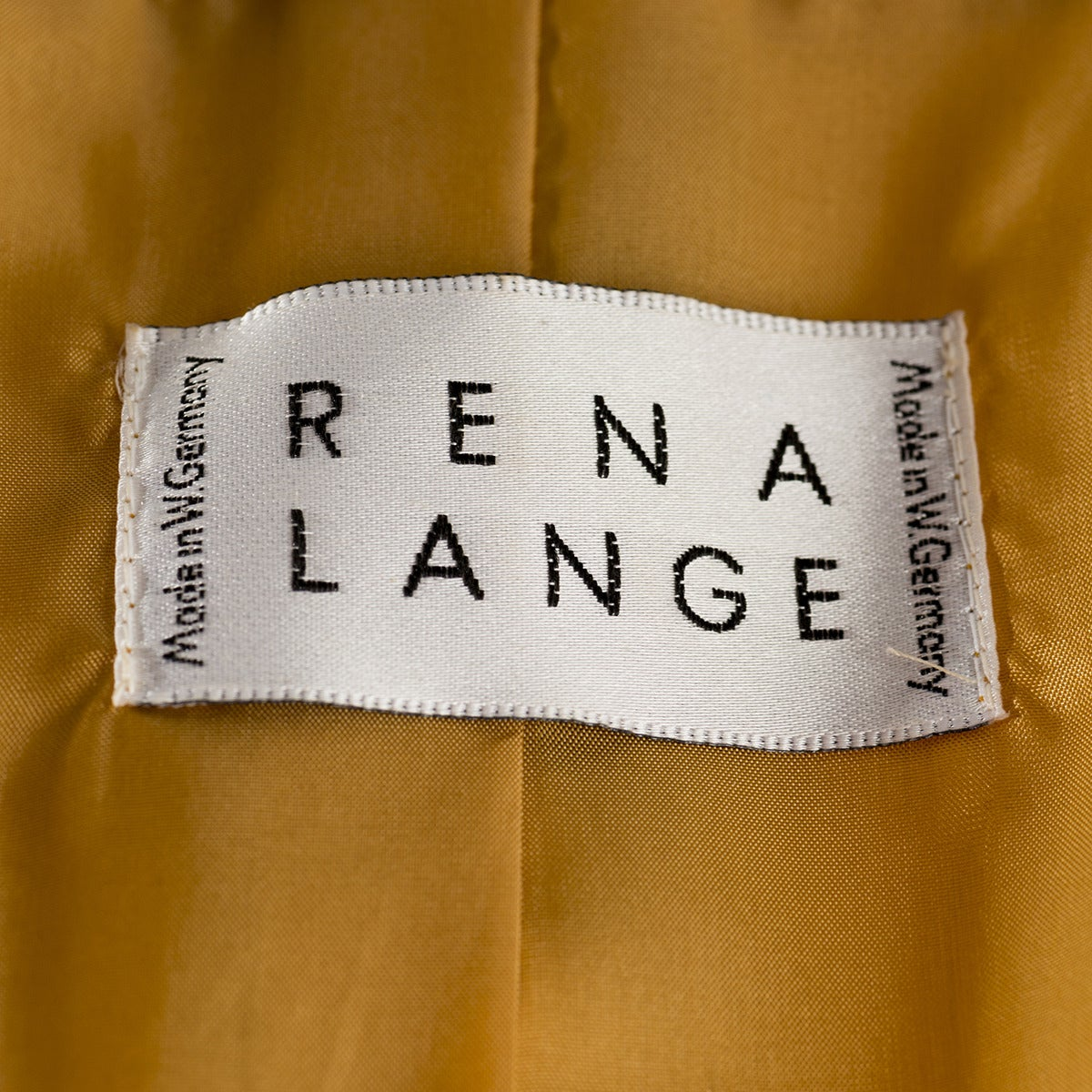 Rena Lange Yellow Damask Jacket In Excellent Condition For Sale In Gazzaniga (BG), IT