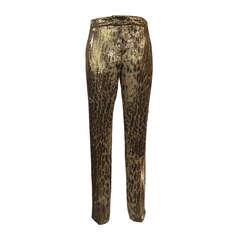 2012 Barbara Bui Spotted Silk Pants