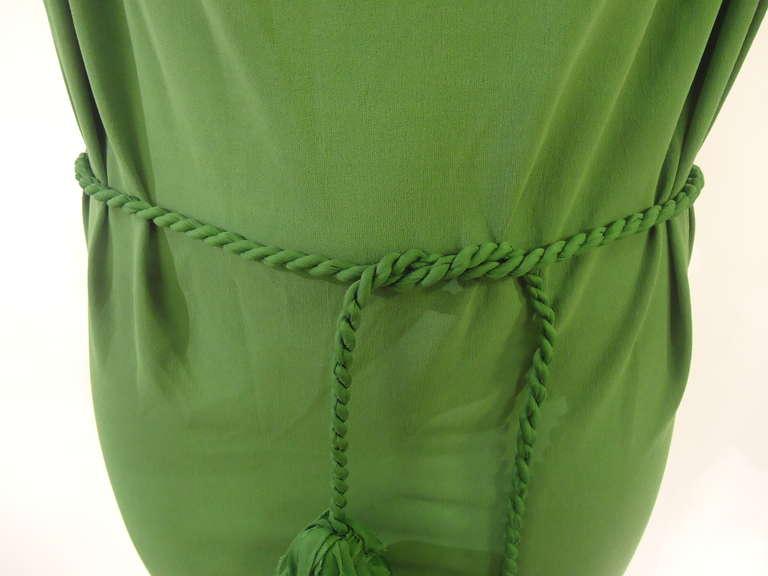 Lanvin Green Short Sleeve Dress 5