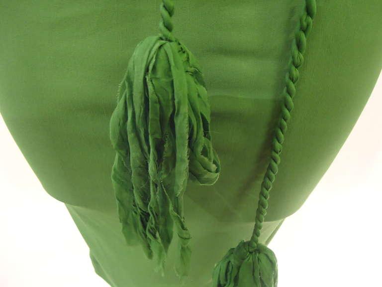 Lanvin Green Short Sleeve Dress 6