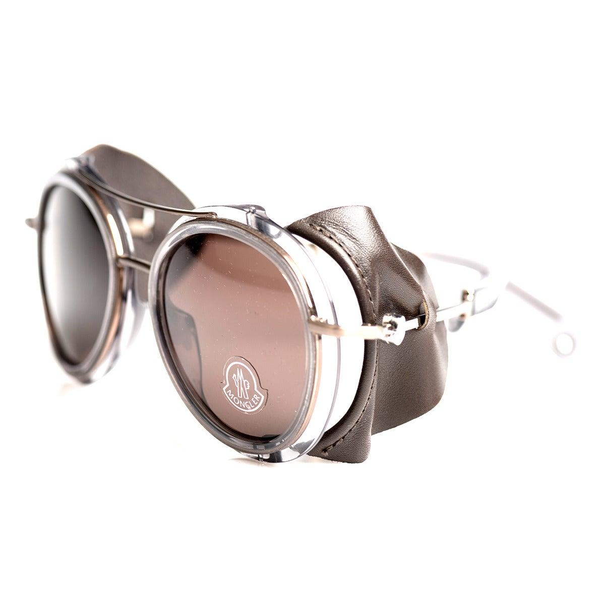 "Moncler ""Tenibres"" Aviator Sunglasses at 1stdibs"