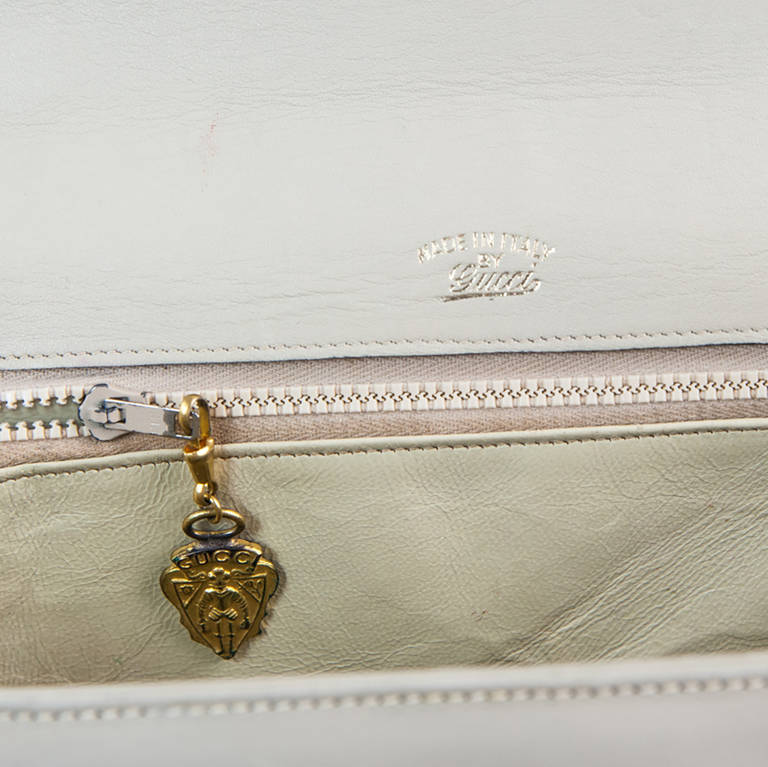 Women's Mid 1950s Gucci Bamboo Bag For Sale