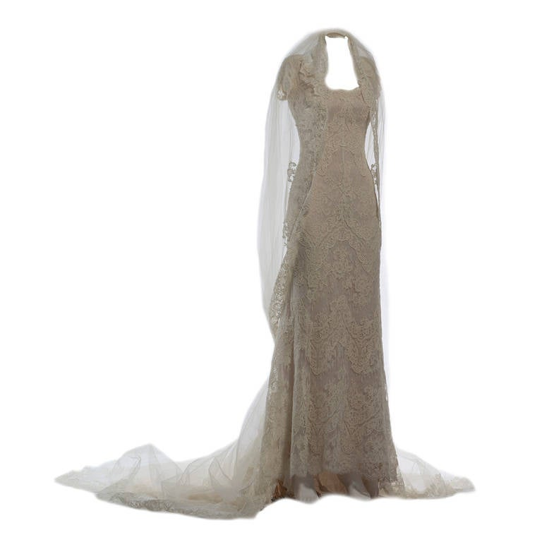 2011 Valentino Natural White Wedding Dress 2