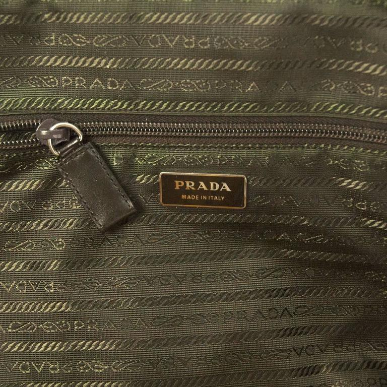 Women's Prada Ochre Real Ostrich Bag For Sale