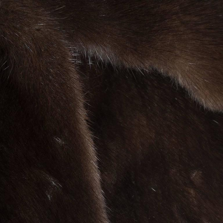 Dolce & Gabbana Mink Fur Coat In Excellent Condition For Sale In Gazzaniga (BG), IT
