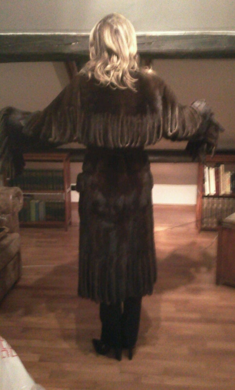 Dolce & Gabbana Mink Fur Coat For Sale 3