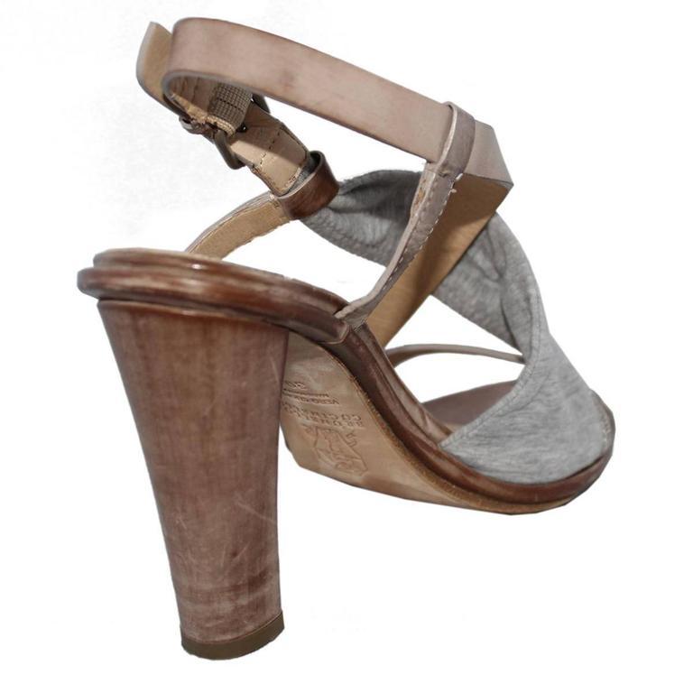 Brunello Cucinelli Brass Sandal 39 3