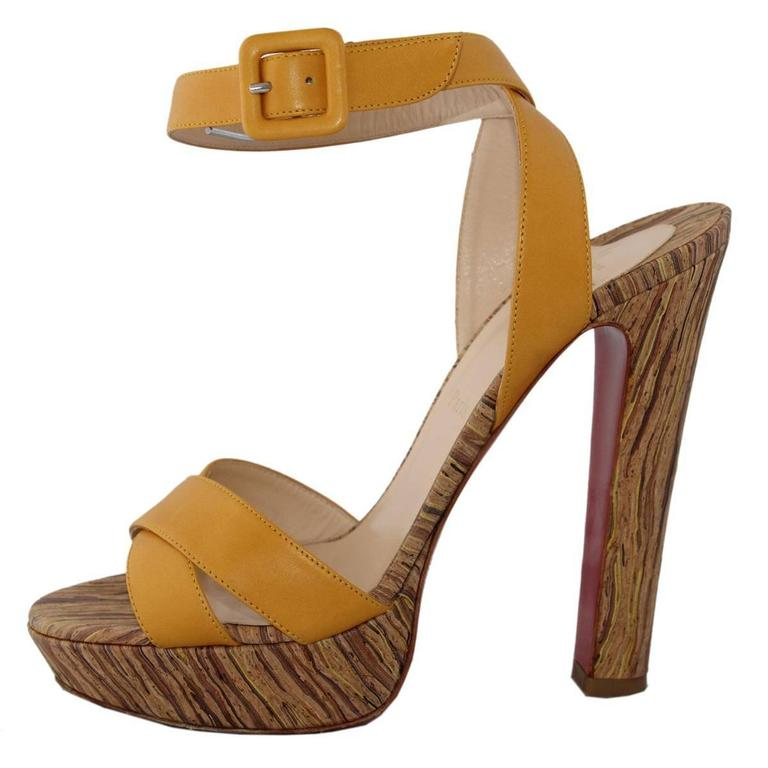 Christian Louboutin Glory 140 Sandal For Sale