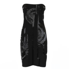 Ralph Lauren Jais and Silk Dress M