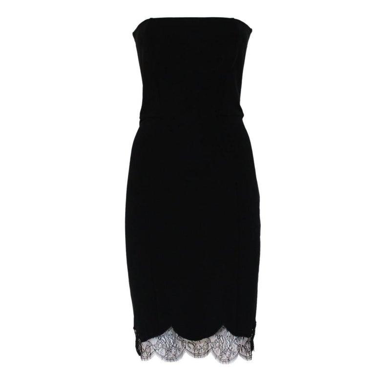 Roberto Cavalli Bustier Lace Dress Size 42
