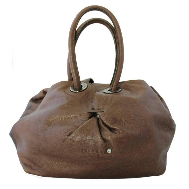 Sonia Rykiel Paris Leather Bag For