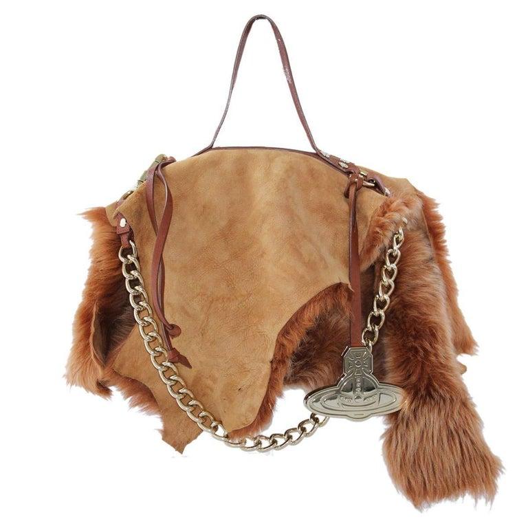 c5afb58bfe9 Vivienne Westwood Ecologic Fur Bag at 1stdibs