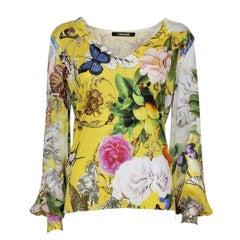 Roberto Cavalli Floral Shirt