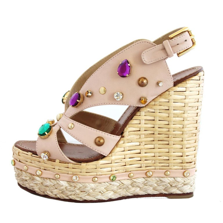 Dolce & Gabbana Jewel Sandal 36