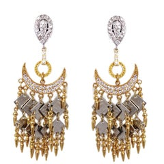Carlo Zini Gold Gipsy Earrings