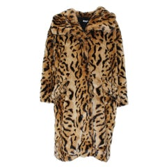 Miu Miu Animalier Eco Fur Coat