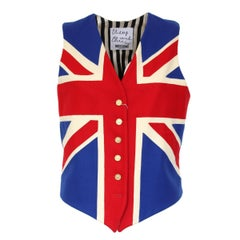 Moschino Union Jack Vest