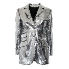 Moschino Silver Sequins Jacket, 1990s
