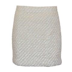 Chanel Bouclé Skirt 40