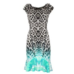 Roberto Cavalli Animalier Dress IT 40