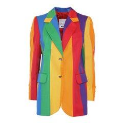 Rare & Iconic Moschino Rainbow Jacket