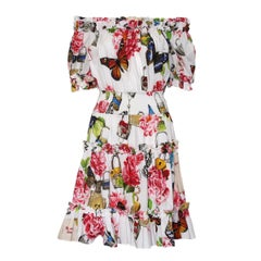 Dolce & Gabbana Floral  Dress IT44