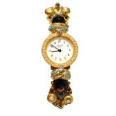 Carlo Zini Vintage Venetian Mori Jewel Watch