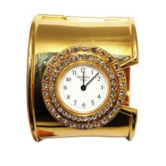 Carlo Zini Golden Heart Jewel Watch