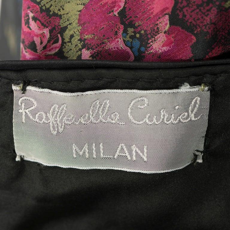 1970s Raffaella Curiel Milano Evening Gown In Excellent Condition In Gazzaniga (BG), IT