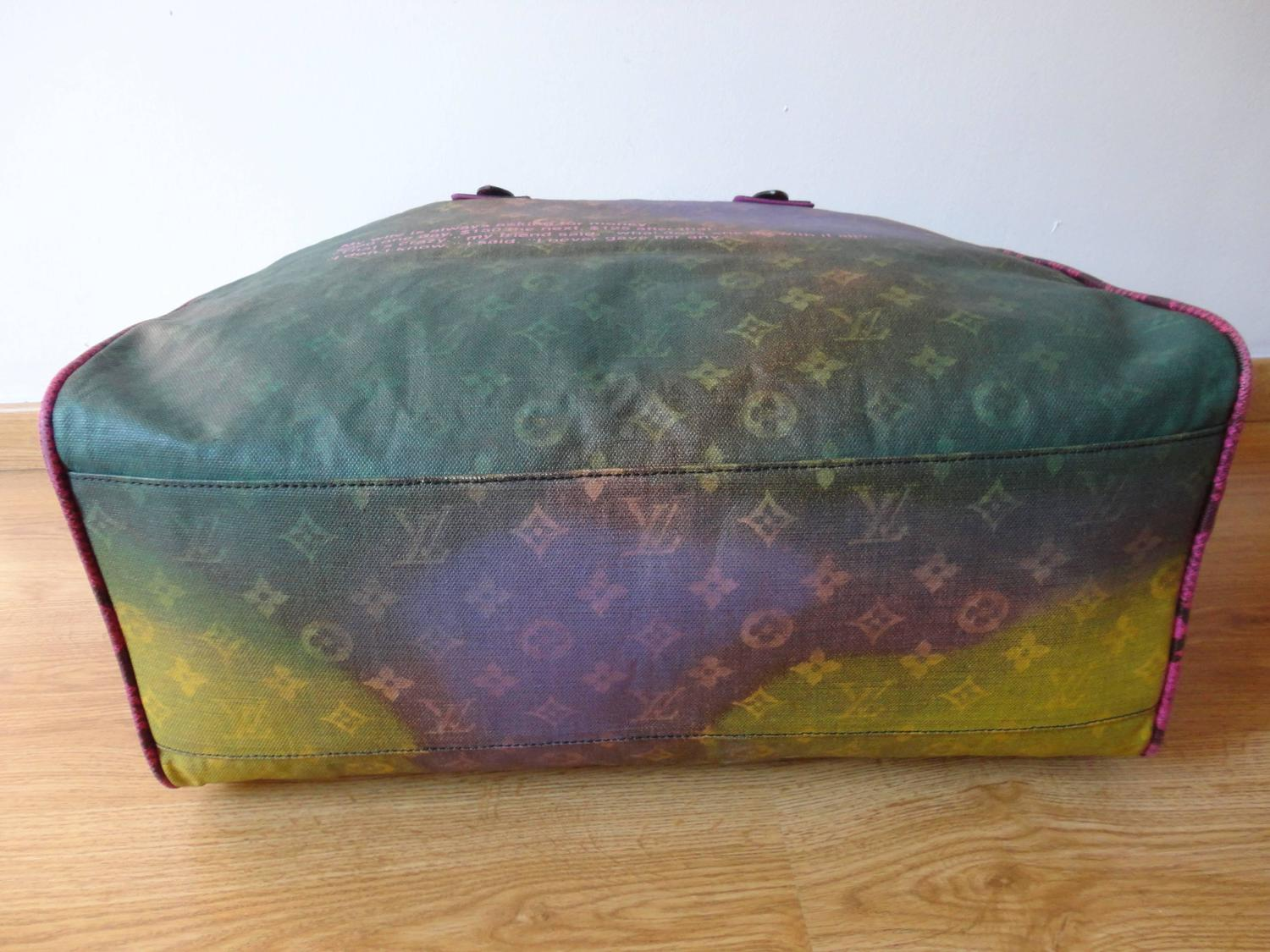 Rare Richard Prince x Louis Vuitton Tote For Sale at 1stdibs