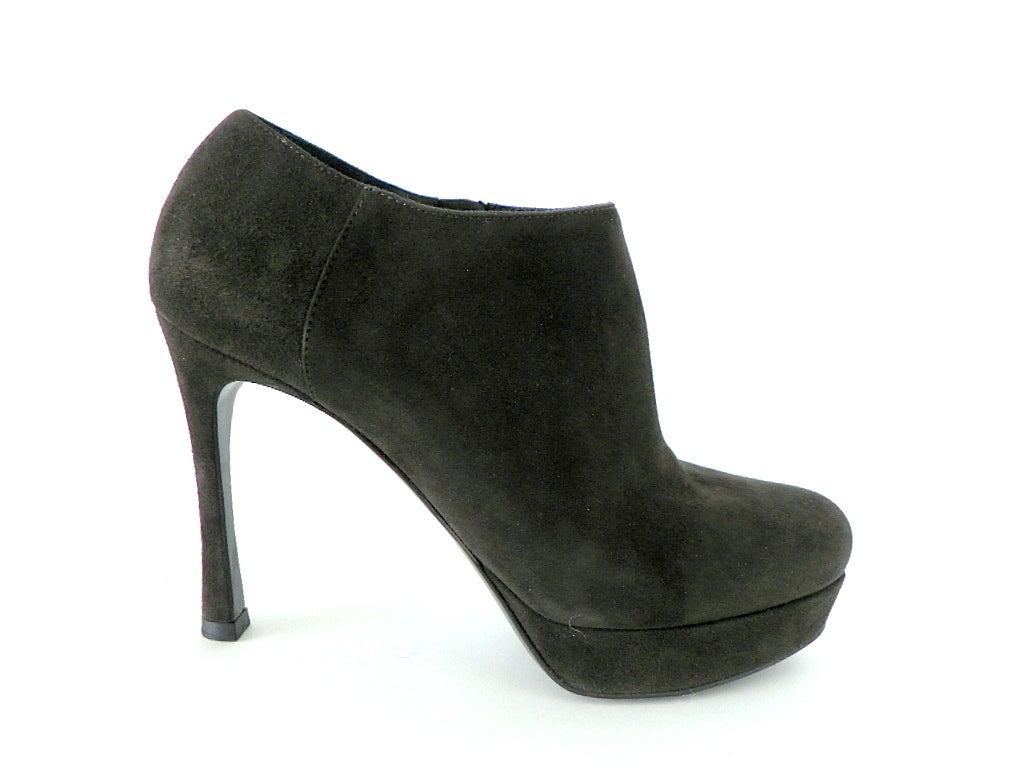 YVES SAINT LAURENT shoe Ankle boot dark green 6.5 divine 2