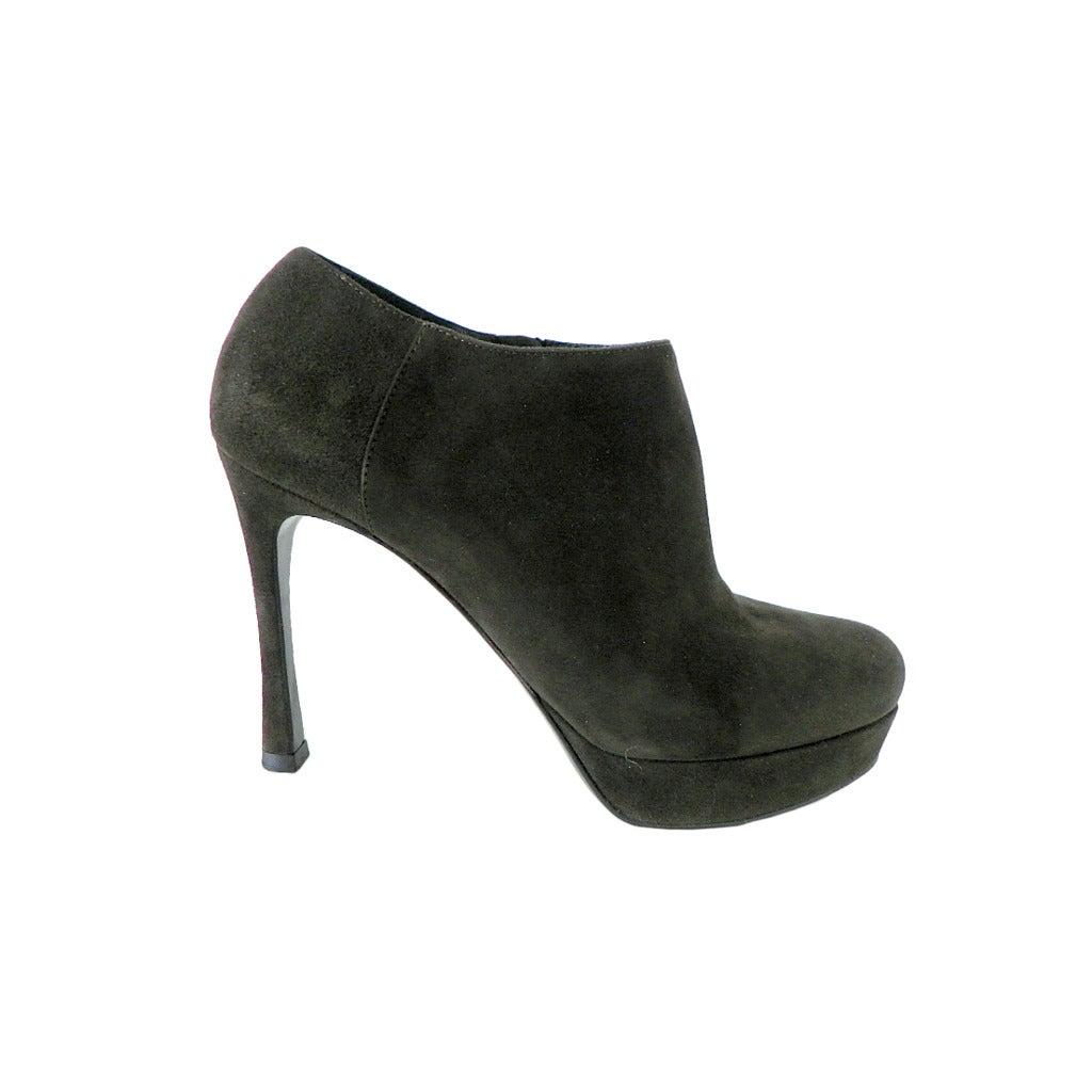 YVES SAINT LAURENT shoe Ankle boot dark green 6.5 divine 1