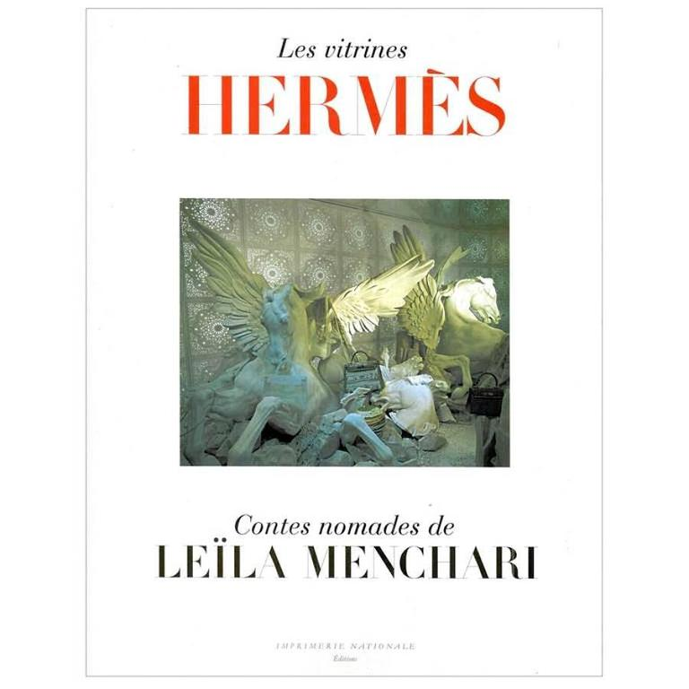 Hermes Les Vitrines Hermes Contes Nomades Leila Menchari Rare Book new
