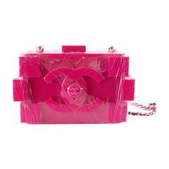 CHANEL bag LIMITED EDITION fuschia pink LEGO Boy Brick still sealed NWT