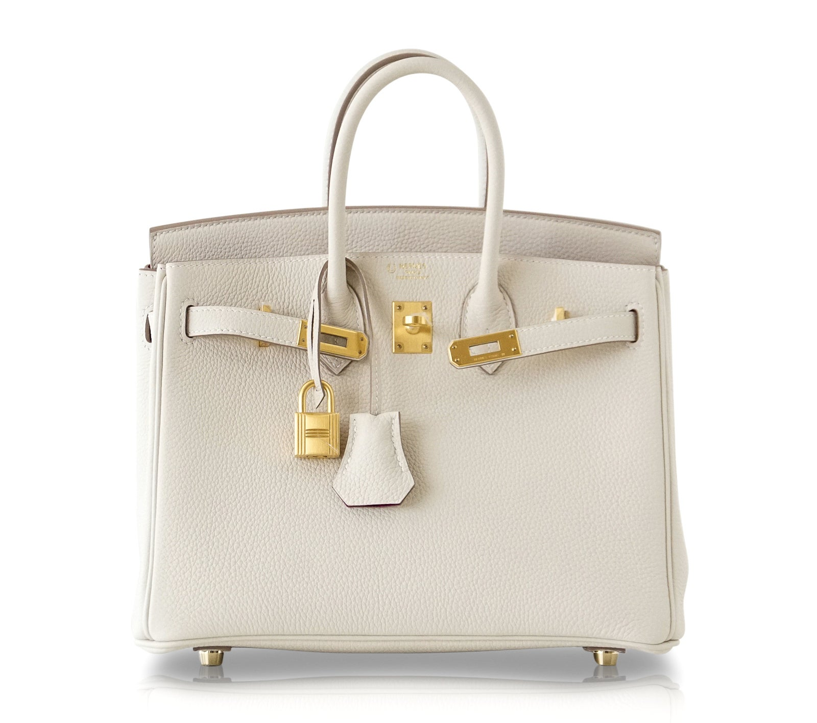 734b72cca8 Hermes Birkin 25 Bag HSS Beton Rose Poupre Pink Brushed Gold Hardware Togo  For Sale at 1stdibs