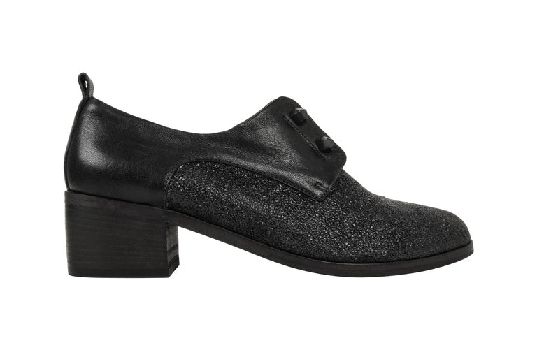 Henry Beguelin Shoe Loafer High Cut Textured Leather 39 / 9 New In New Condition For Sale In Miami, FL