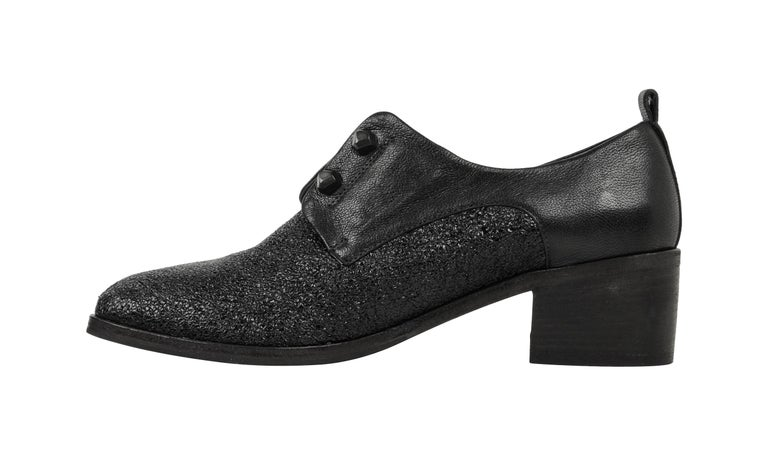 Women's Henry Beguelin Shoe Loafer High Cut Textured Leather 39 / 9 New For Sale