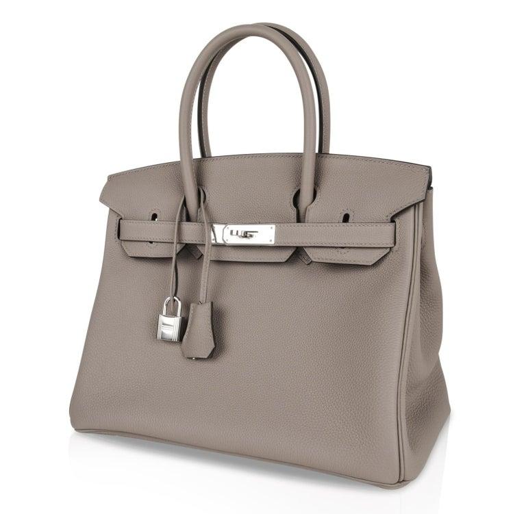 deca1a7ae53 Hermes Birkin 30 Bag Gris Asphalte Togo Palladium Hardware For Sale ...